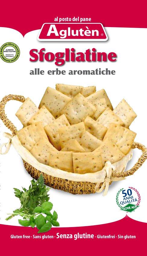 Crackers con hierbas aromáticas