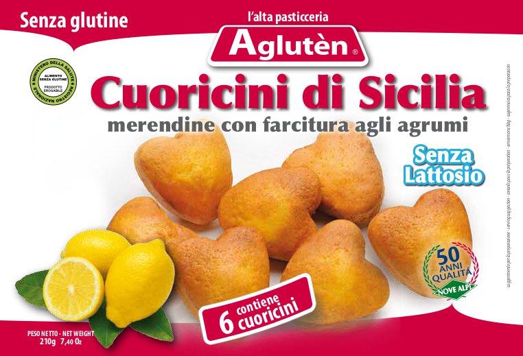 Mini corazones de Sicilia(magdalenas)